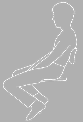 Rethinking Sitting and Seating. From Corlett & Eklund (1984) How does a backrest work
