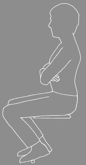 Seat height revisited From Corlett & Eklund (1984) How does a backrest work